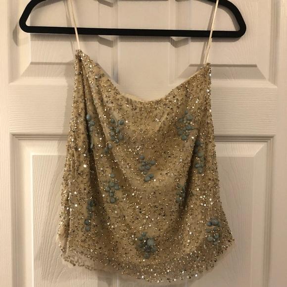 Zara Dresses & Skirts - Sequin skirt